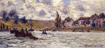 Claude Oscar Monet : The Village of Lavacourt