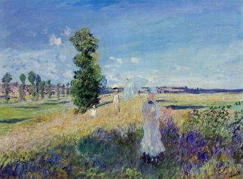 Claude Oscar Monet : The Walk, Argenteuil
