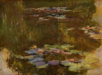Claude Oscar Monet : The Water-Lily Pond II