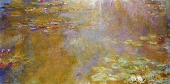 Claude Oscar Monet : The Water-Lily Pond III