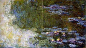 Claude Oscar Monet : The Water-Lily Pond IV