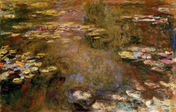Claude Oscar Monet : The Water-Lily Pond V