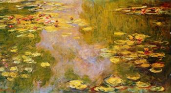 Claude Oscar Monet : The Water-Lily Pond VII