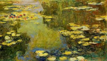 Claude Oscar Monet : The Water-Lily Pond VIII