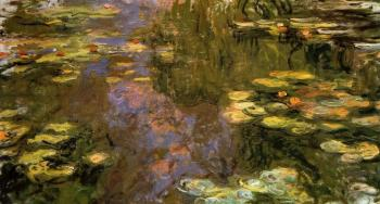 Claude Oscar Monet : The Water-Lily Pond IX