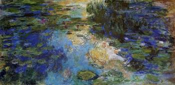 Claude Oscar Monet : The Water-Lily Pond X
