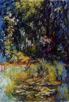 Claude Oscar Monet : The Water-Lily Pond XII