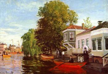 Claude Oscar Monet : The Zaan at Zaandam