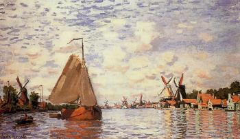 Claude Oscar Monet : The Zaan at Zaandam II