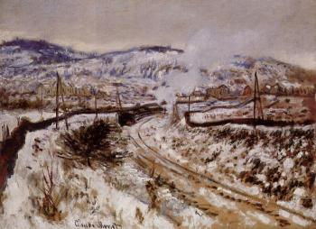 Claude Oscar Monet : Train in the Snow, Argenteuil