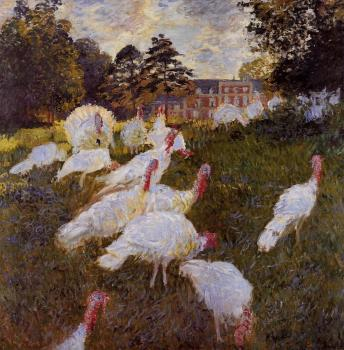 Claude Oscar Monet : Turkeys