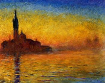 Claude Oscar Monet : Twilight, Venice