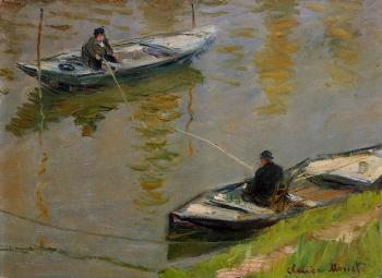 Claude Oscar Monet : Two Anglers