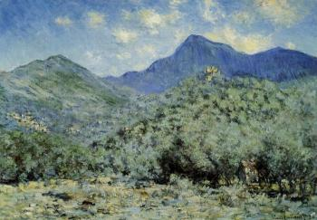 Claude Oscar Monet : Valle near Bordighera
