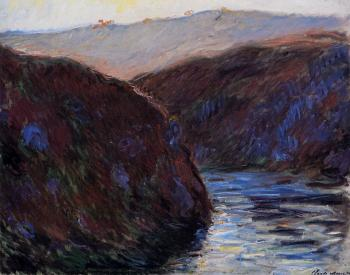 Claude Oscar Monet : Valley of the Creuse, Evening Effect