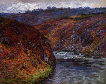Claude Oscar Monet : Valley of the Creuse, Grey Day