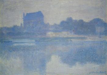 Claude Oscar Monet : Vernon Church in the Fog