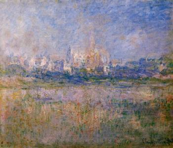 Claude Oscar Monet : Vetheuil in the Fog