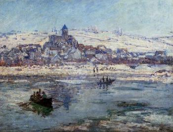 Claude Oscar Monet : Vetheuil in Winter