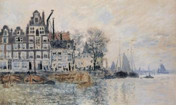 Claude Oscar Monet : View of Amsterdam