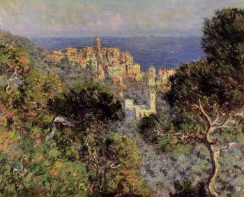 Claude Oscar Monet : View of Bordighera