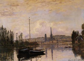 Claude Oscar Monet : View of Rouen
