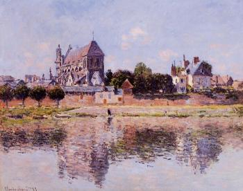 Claude Oscar Monet : View of the Church at Vernon