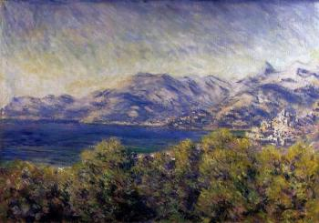 Claude Oscar Monet : View of Ventimiglia