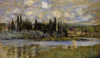 Claude Oscar Monet : View of Vetheuil