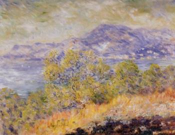 Claude Oscar Monet : View Taken near Ventimiglia