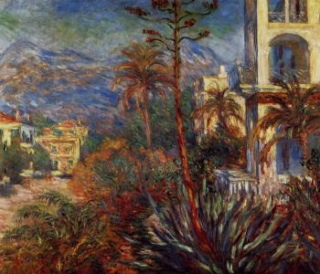 Claude Oscar Monet : Villas at Bordighera