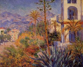 Claude Oscar Monet : Villas at Bordighera II