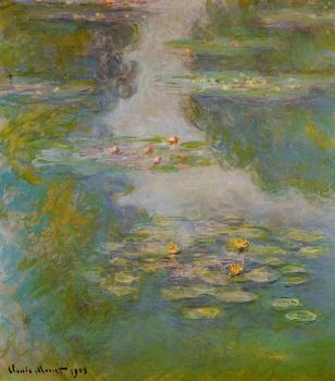 Claude Oscar Monet : Water Lilies VI