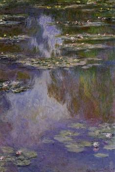 Claude Oscar Monet : Water Lilies VII