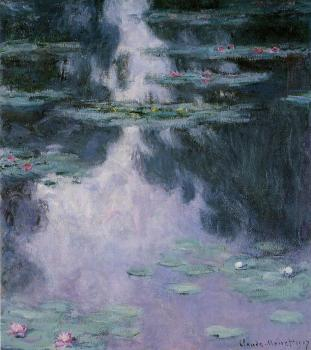 Claude Oscar Monet : Water Lilies IX