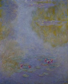 Claude Oscar Monet : Water Lilies X