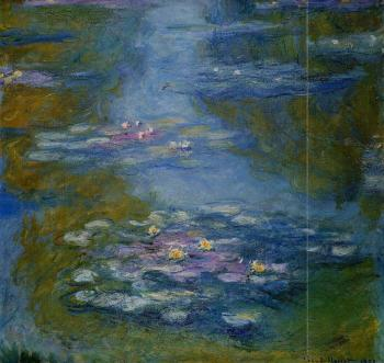 Claude Oscar Monet : Water Lilies XI
