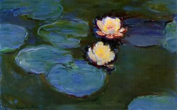 Claude Oscar Monet : Water Lilies XII