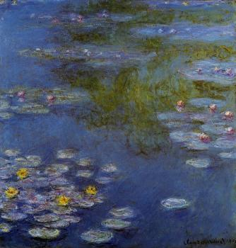 Claude Oscar Monet : Water Lilies XIV