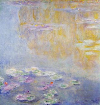 Claude Oscar Monet : Water Lilies XIX
