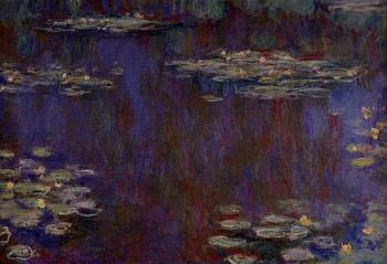 Claude Oscar Monet : Water Lilies XX