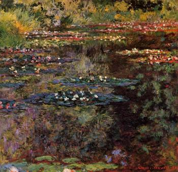 Claude Oscar Monet : Water Lilies XXI