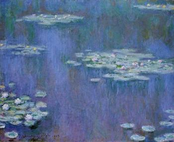 Claude Oscar Monet : Water Lilies XXV