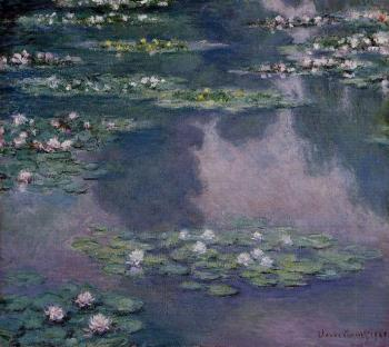 Claude Oscar Monet : Water Lilies XXX