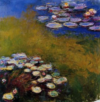 Claude Oscar Monet : Water Lilies XLI