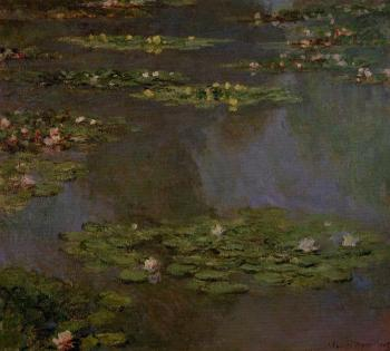 Claude Oscar Monet : Water Lilies XLV