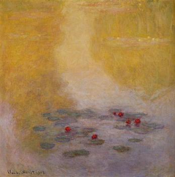 Claude Oscar Monet : Water Lilies L