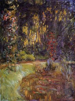 Claude Oscar Monet : Water-Lily Pond at Giverny