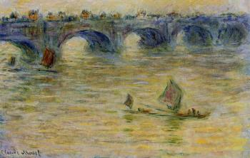 Claude Oscar Monet : Waterloo Bridge
