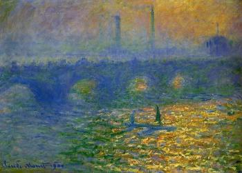 Claude Oscar Monet : Waterloo Bridge II